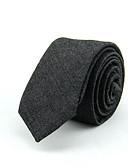 abordables Corbatas y Pajaritas para Hombre-Hombre Corbata - Trabajo Un Color