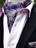 Недорогие Мужские брюки и шорты-Муж. Классический Платок / аскотский галстук - С принтом Геометрический принт