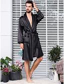 povoljno Nehrđajući čelik-Muškarci Veći konfekcijski brojevi Suknje - Jednobojni Kolaž Crn XXXL XXXXL XXXXXL / V izrez / Jesen / Sexy