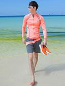 povoljno iPhone maske-JIAAO Muškarci Ronilačko odijelo kože Ronilačka odijela UV zaštitu od sunca Vjetronepropusnost Kompletna maska Plivanje Ronjenje Jednobojni Kolaž Pasti Proljeće Ljeto / Rastezljivo