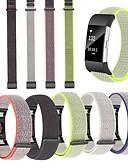 halpa Smartwatch-nauhat-Watch Band varten Fitbit Charge 2 Fitbit Urheiluhihna Nylon Rannehihna