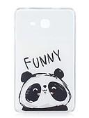 halpa Samsung Case-Etui Käyttötarkoitus Samsung Galaxy Tab A 7.0 (2016) Kuvio Takakuori Panda Pehmeä TPU