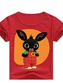 povoljno Majice za dječake-Djeca Dijete koje je tek prohodalo Dječaci Osnovni Print Print Kratkih rukava Majica s kratkim rukavima Crn