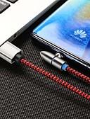 זול כבל & מטענים iPhone-Mini USB כבל מגנטי / 41642.0 ניילון מתאם כבל USB עבור סמסונג / Huawei / iPhone