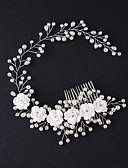 cheap Mother of the Bride Dresses-Manual Hair Accessories Alloy Wigs Accessories Women's 1 pcs pcs N / A cm Party / Daily Wear / Outdoor Ordinary / Headpieces / Modern Contemporary Party / Easy to Carry / Women