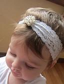 זול ילדים כובעים ומצחיות-מידה אחת לבן אביזרי שיער תחרה סגנון פרחוני פרחוני בסיסי / מתוק בנות פעוטות