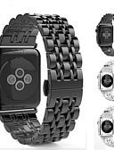 זול להקות Smartwatch-צפו בנד ל סדרת Apple Watch 5/4/3/2/1 Apple אבזם מודרני מתכת אל חלד רצועת יד לספורט