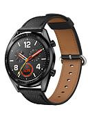 זול להקות Smartwatch-צפו בנד ל Huawei שעונים GT Huawei אבזם קלאסי עור אמיתי רצועת יד לספורט