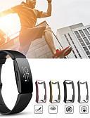 זול מקרה Smartwatch-מגן עבור Fitbit Fitbit השראה HR / Fitbit השראה PU פיטביט