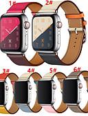 זול להקות Smartwatch-צפו בנד ל סדרת Apple Watch 5/4/3/2/1 Apple לולאה מעור עור אמיתי רצועת יד לספורט