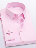 זול חולצות-אחיד חולצה - בגדי ריקוד גברים יין