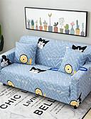 halpa Muu tapaus-sarjakuva koira kestävä pehmeä korkea venytys slipcovers sohva kansi pestävä spandex sohva kannet