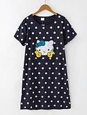abordables Pijamas-Mujer Escote Redondo Traje Pijamas Un Color