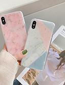 זול מגנים לאייפון-מגן עבור Apple iPhone XS / iPhone XR / iPhone XS Max עמיד בזעזועים כיסוי אחורי שיש רך TPU / PC