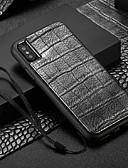 זול מגנים לאייפון-מגן עבור Apple iPhone XS / iPhone XR / iPhone XS Max מחזיק כרטיסים כיסוי אחורי חיה קשיח עור PU