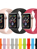 halpa Smartwatch-nauhat-Watch Band varten Apple Watch Series 4/3/2/1 Apple Urheiluhihna Silikoni Rannehihna