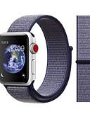 hesapli iPhone Kılıfları-Watch Band için Apple Watch Series 4/3/2/1 Apple Spor Bantları Naylon Bilek Askısı