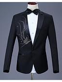 povoljno Bikinis-Tuxedos Standardni kroj Stepenasti Droit 1 bouton Poliester Moda