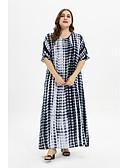 halpa Maksimekot-Naisten Boheemi Abaya Mekko - Geometrinen Maxi