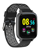 זול להקות Smartwatch-SN12S גברים חכמים שעונים Android iOS Blootooth עמיד במים מסך מגע מוניטור קצב לב מודד לחץ דם ספורטיבי מד צעדים מזכיר שיחות מד פעילות מעקב שינה תזכורת בישיבה