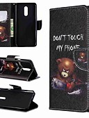 זול מגנים לאייפון-מגן עבור LG LG V30 / LG V20 / LG Stylo 4 ארנק / עמיד בזעזועים / עם מעמד כיסוי מלא מילה / ביטוי קשיח עור PU / LG G6