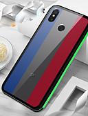 זול מגנים לטלפון-מגן עבור Xiaomi Xiaomi Mi 8 / Xiaomi Mi 8 SE / Xiaomi Mi 8 Explorer IMD כיסוי אחורי צבע הדרגתי קשיח אקרילי