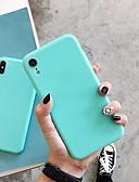 זול מגנים לאייפון-מגן עבור Apple iPhone XS / iPhone XR / iPhone XS Max עמיד בזעזועים כיסוי אחורי אחיד רך ג'ל סיליקה