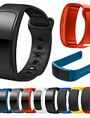 זול להקות Smartwatch-צפו בנד ל Gear Fit Pro / Gear Fit 2 Samsung Galaxy רצועת ספורט סיליקוןריצה רצועת יד לספורט