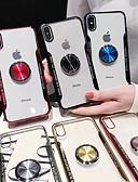 זול מגנים לאייפון-מארז iPhone xs / iPhone xs מקס שקוף / מחזיק הטבעת בחזרה כיסוי tpu רך שקוף עבור x / xs / 6/6 פלוס / 6s / 6s פלוס / 7/7 פלוס / 8/8 פלוס