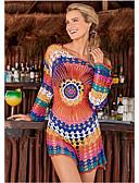 abordables Bañadores de Una Pieza-Mujer Arco Iris Tapadera Bañadores - Un Color Tamaño Único Arco Iris