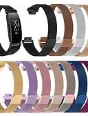זול להקות Smartwatch-צפו בנד ל Fitbit השראה HR פיטביט לולאה בסגנון מילאנו מתכת אל חלד רצועת יד לספורט