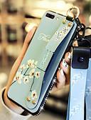 Недорогие Чехлы для телефонов-Чехол для OPPO OPPON A77 / OPPO R11S Plus с подставкой / противоударная задняя крышка Цветочная мягкая искусственная кожа для OPPO A57 / OPPO A59 / OPPO A77