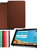 Недорогие Чехлы для телефонов-Кейс для Назначение LG LG G Pad II 10.1 V940N Защита от удара / со стендом / Ультратонкий Чехол Однотонный Твердый Кожа PU