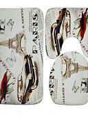 hesapli Erkek Tişörtleri ve Atletleri-1set Modern Banyo Paspasları PVC Yenilik Yeni Dizayn / Havalı