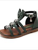 povoljno Haljine za djevojčice-Djevojčice Eko koža Sandale Rimske cipele Bež / Zelen / Pink Proljeće / Ljeto