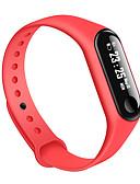 billige Kjoler til nyttårsaften-m3 smart armbånd bt fitness tracker support varsle / ecg + ppg / blodtrykksmåling sports smartklokke for samsung / iphone / android telefoner