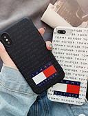 זול מגנים לאייפון-מגן עבור Apple iPhone XS / iPhone XR / iPhone XS Max תבנית כיסוי אחורי מילה / ביטוי רך סיליקון