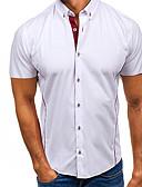 billige Herreskjorter-Herre - Ensfarvet Gade Skjorte Hvid XL