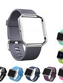 זול להקות Smartwatch-צפו בנד ל Fitbit Blaze פיטביט רצועת ספורט סיליקוןריצה רצועת יד לספורט