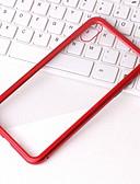 זול מגנים לאייפון-מגן עבור Apple iPhone XS / iPhone XR / iPhone XS Max שקוף כיסוי אחורי שקוף קשיח מתכת