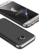 hesapli Cep Telefonu Kılıfları-Pouzdro Uyumluluk Samsung Galaxy S6 edge Ultra İnce Arka Kapak Solid Sert PC