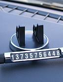 זול מגני מסך לטאבלט-כרטיס רכב זמני כרטיס זוהר מספר הטלפון מחזיקי הטלפון