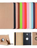 זול מארז Samsung-מגן עבור Samsung Galaxy Tab A2 10.5 (2018) T595 T590 / Tab S2 9.7 / Tab S2 8.0 עם מעמד / נפתח-נסגר כיסוי מלא אחיד קשיח עור PU