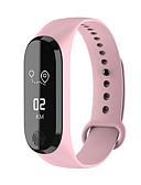 זול שמלות מיני-צמיד חכם שעון הלב קצב הלב לחץ דם פעילות גופנית שלב