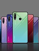 זול מקרה Smartwatch-מגן עבור Huawei Huawei Honor 10 / כבוד 10 לייט / כבוד 10i עמיד בזעזועים כיסוי אחורי צבע הדרגתי קשיח TPU / זכוכית משוריינת