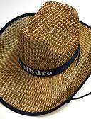 זול ילדים כובעים ומצחיות-קיץ סתיו שחור אודם חאקי כובע קש כובע שמש אחיד קש בסיסי שנות ה-30 בגדי ריקוד גברים
