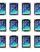 זול במקרה iPad-מגן עבור Apple iPad Air / iPad 4/3/2 / iPad Mini 3/2/1 מסתובב360מעלות / עם מעמד כיסוי אחורי אחיד רך סיליקון / פלסטי