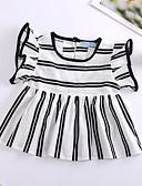 זול לבנים סטים של ביגוד לתינוקות-חולצה שרוולים קצרים משובץ דמקה בנות תִינוֹק