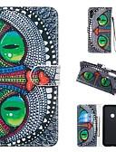 povoljno Maske za mobitele-Θήκη Za Huawei Počastite 10 Lite / Huawei Mate 20 lite / Huawei Mate 20 pro Novčanik / Utor za kartice / sa stalkom Korice Životinja Tvrdo PU koža