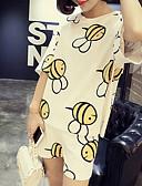 hesapli Gömlek-Kadın's Temel / Çin Stili Set Solid Pantolon